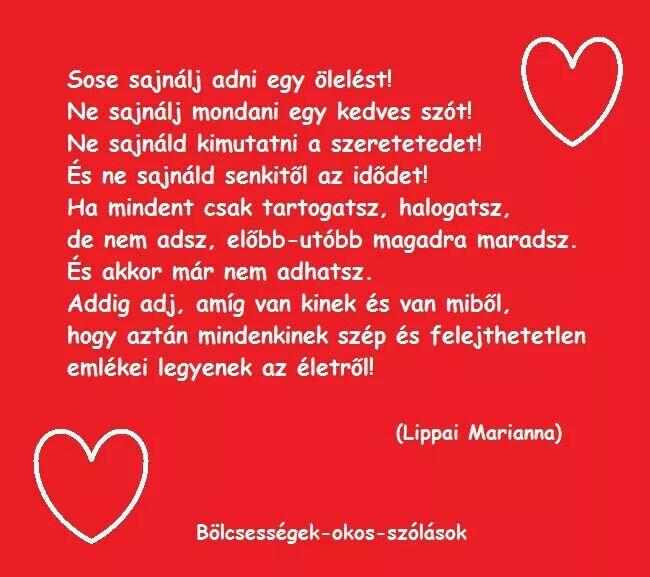 szülinapi szerelmes idézetek Lippai Marianna | Life quotes, Motivational quotes, Quotes