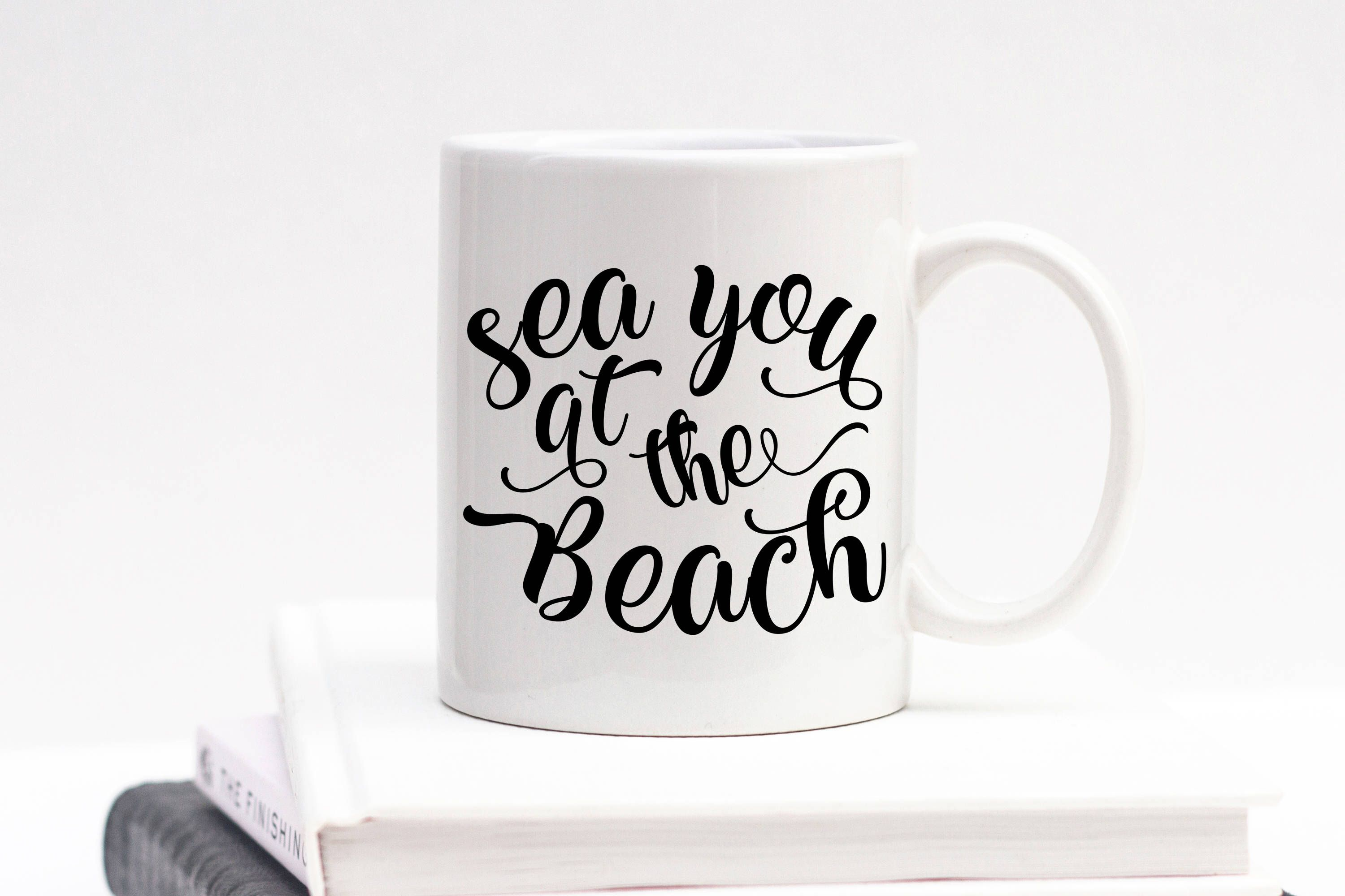 Beach House Gift Ideas Part - 16: Sea You At The Beach Mug, Beach Mug, Beach Gift, Present, Beach