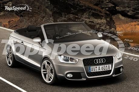 Audi Rumors About A Possible Audi A1 Convertible Were Circulating