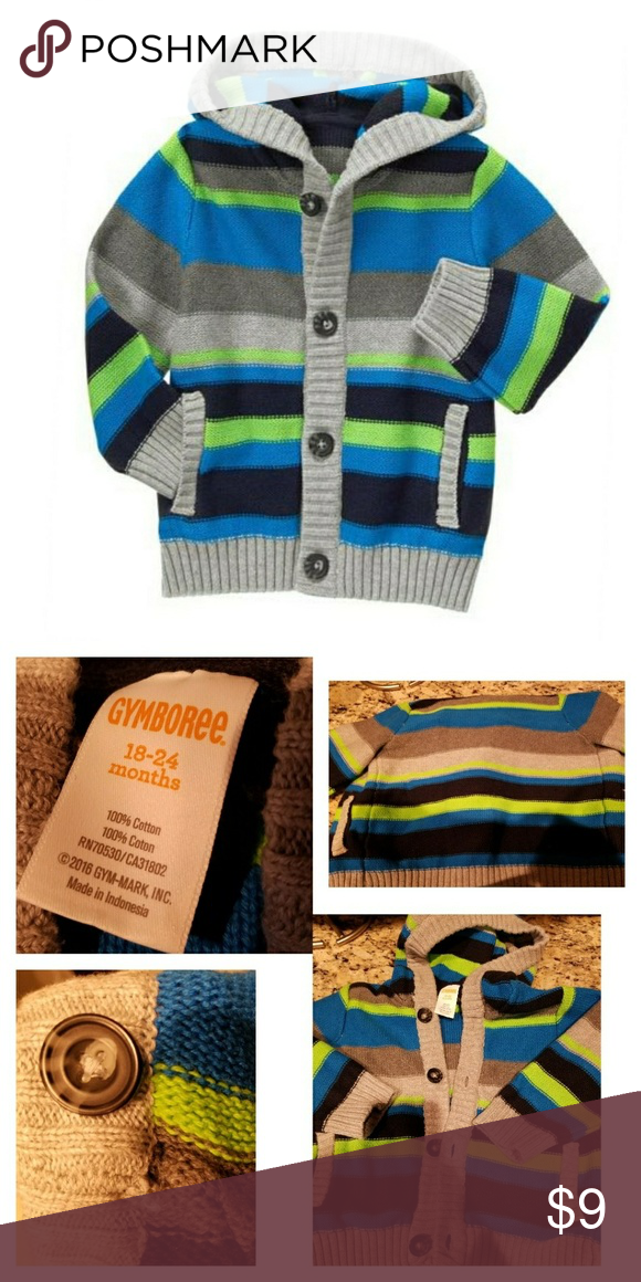 02f0695beac6 Striped▫Cardigan Condition  Like New (worn 3x) Colors lime green ...