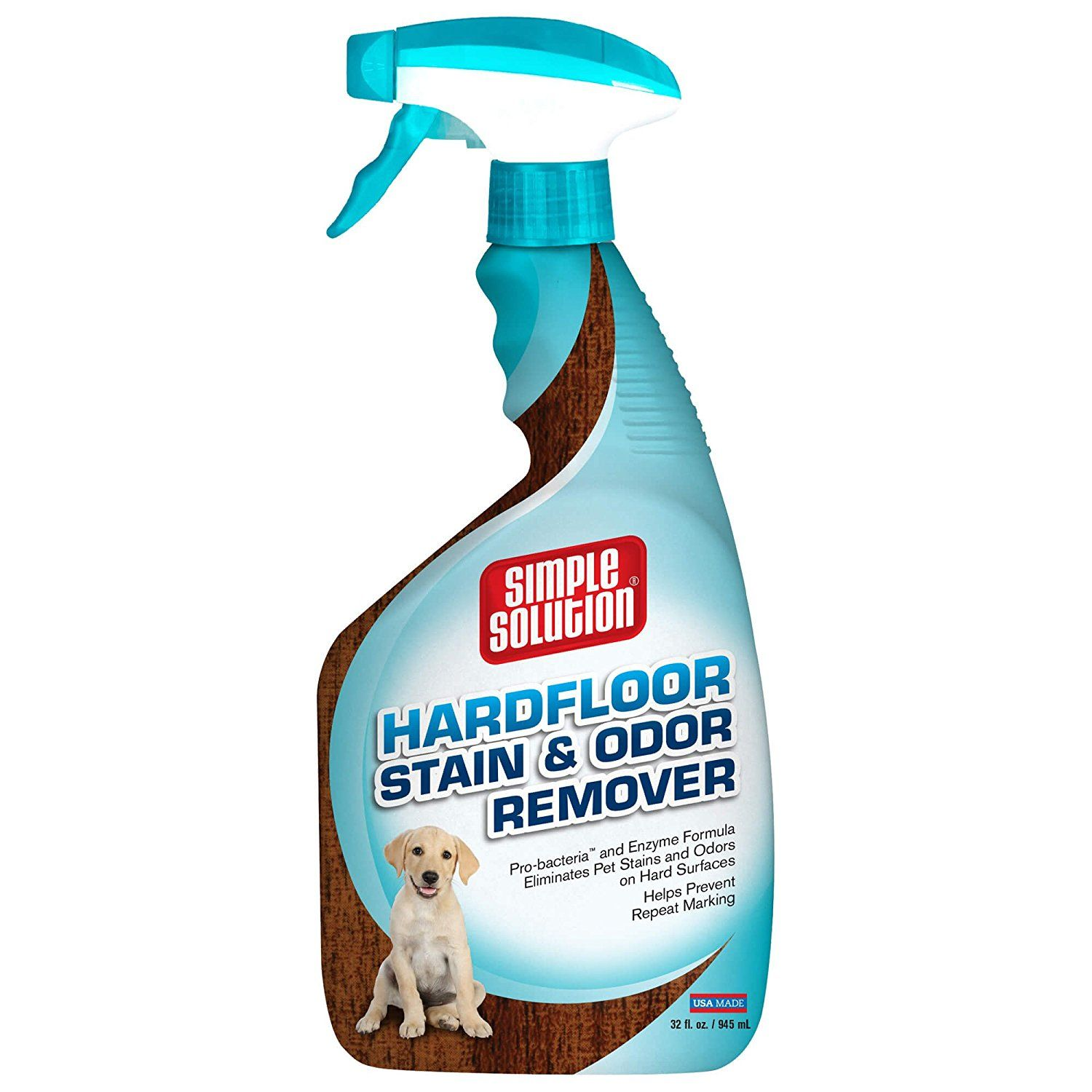 Simple Solution Hardfloors Pet Stain and Odor Remover, 32
