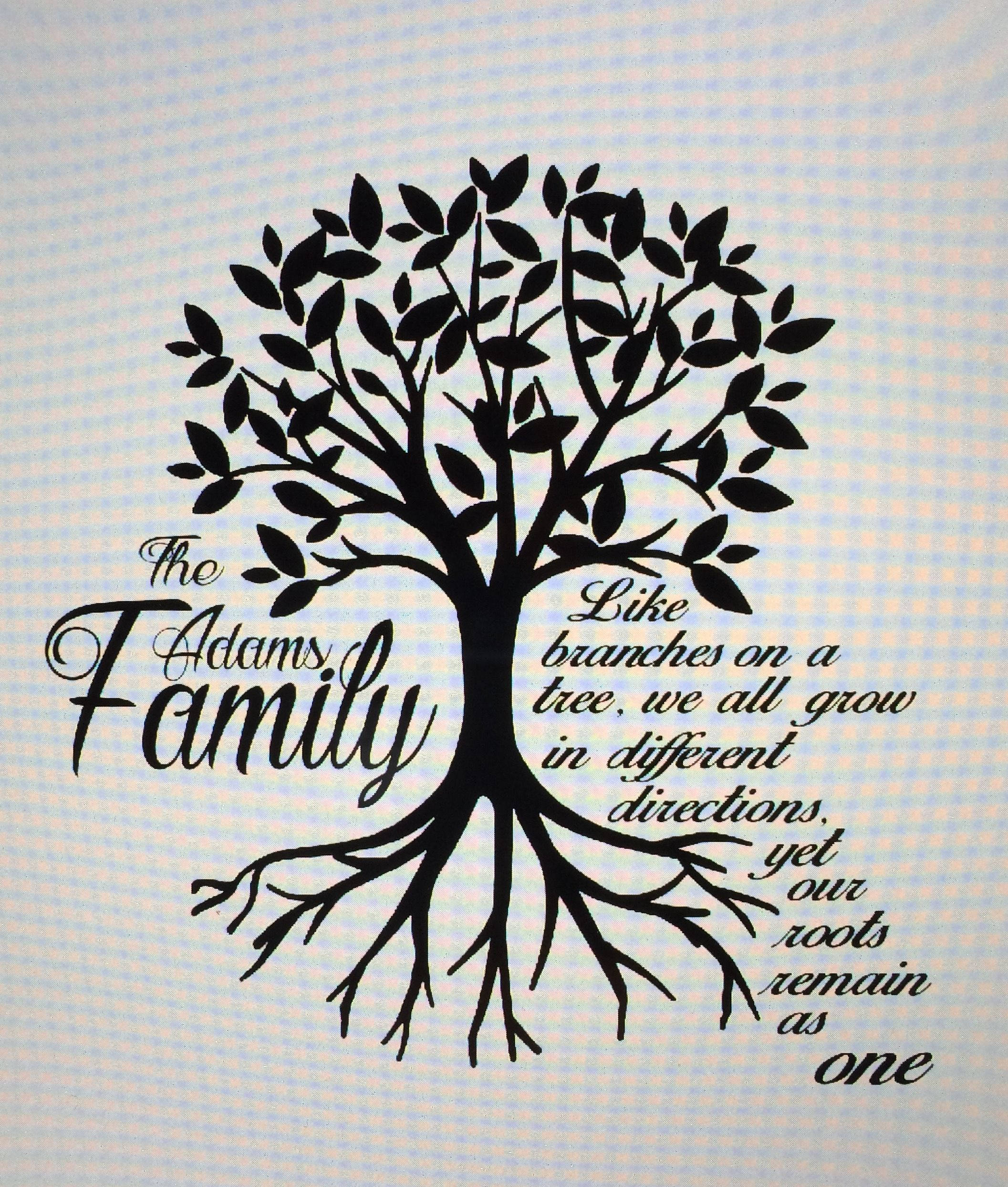 Family Reunion Shirt Design Made By Me