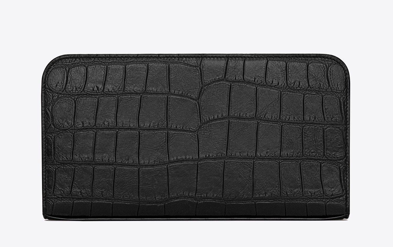 イブサンローラン財布|シックなブラックレザーの財布でミニマルStyleをUP
