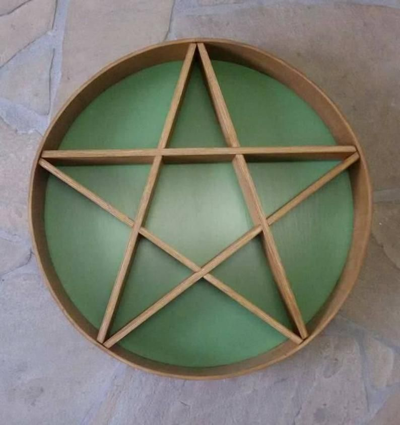 Pentacle shelf Etsy Pentacle, Ral colours, Gifts for