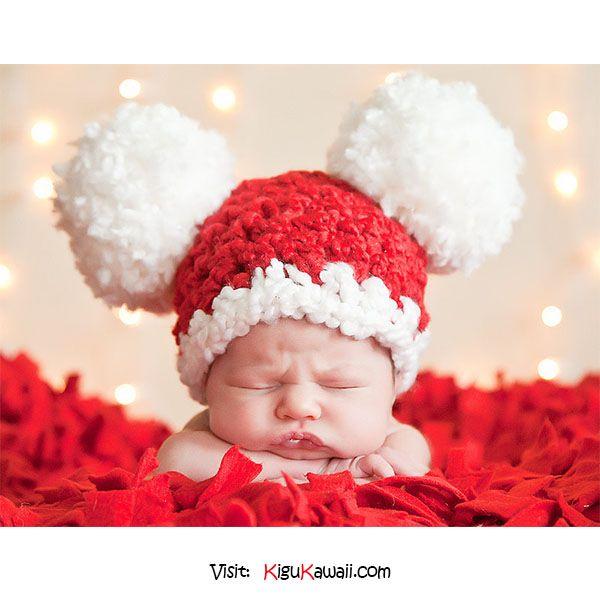 Adorable Christmas Baby ♥ ♥ ♥ Follow Kigu Kawaii for more cute ...