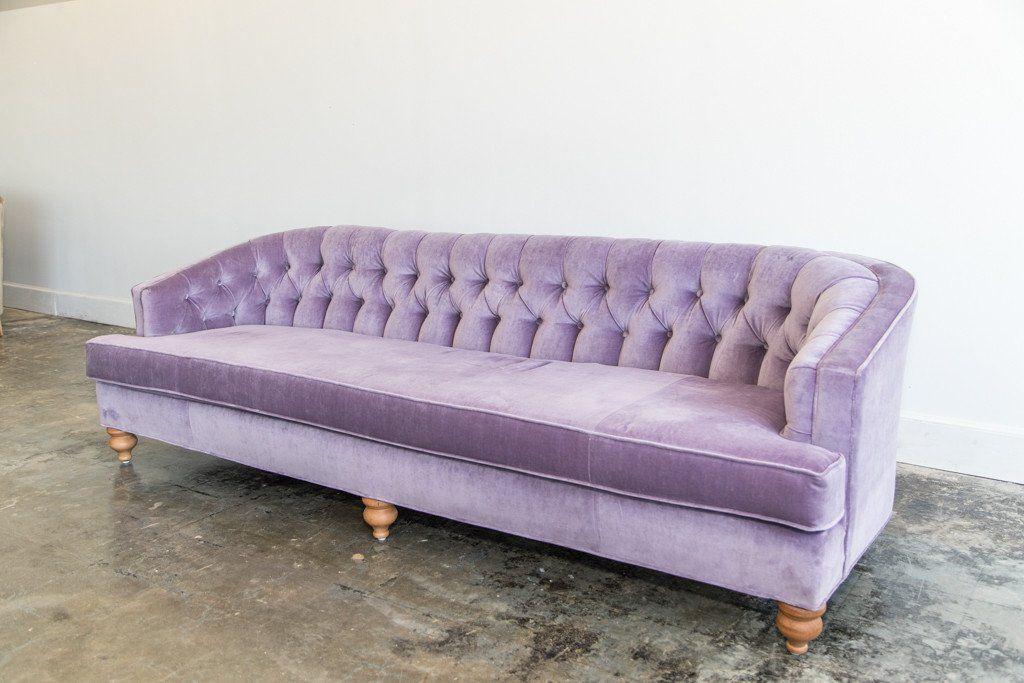 Lounge Furniture Vintage Sofa Velvet