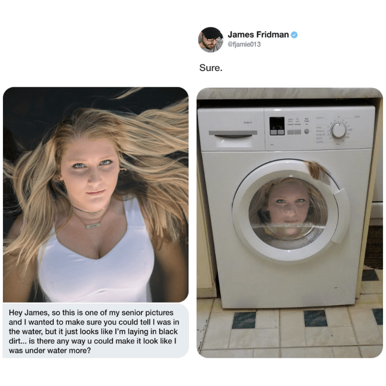 Master Photoshop Troll James Fridman Achieving Hilarious Excellence In 15 Tweets
