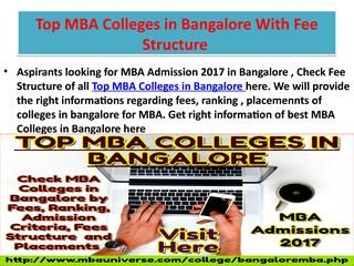 Top Mba Colleges In Bangalore Through Mat Cmat Cat Mba College Bangalore