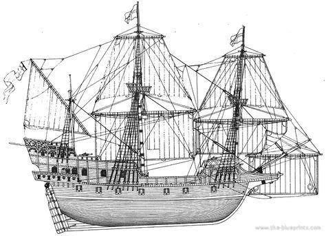 Elisabethan Galleon Golden Hind Sailing Ships Ship