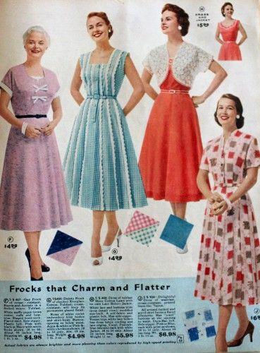 1950s Plus Size Clothing