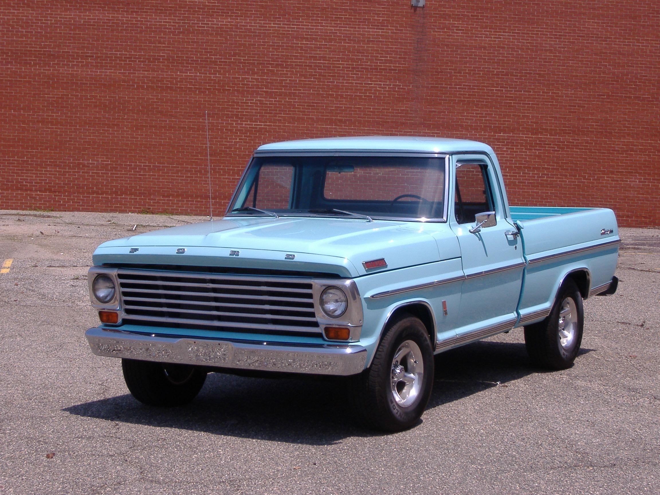 1967 ford f 100 ranger sweet rides ford ford trucks trucks rh pinterest com