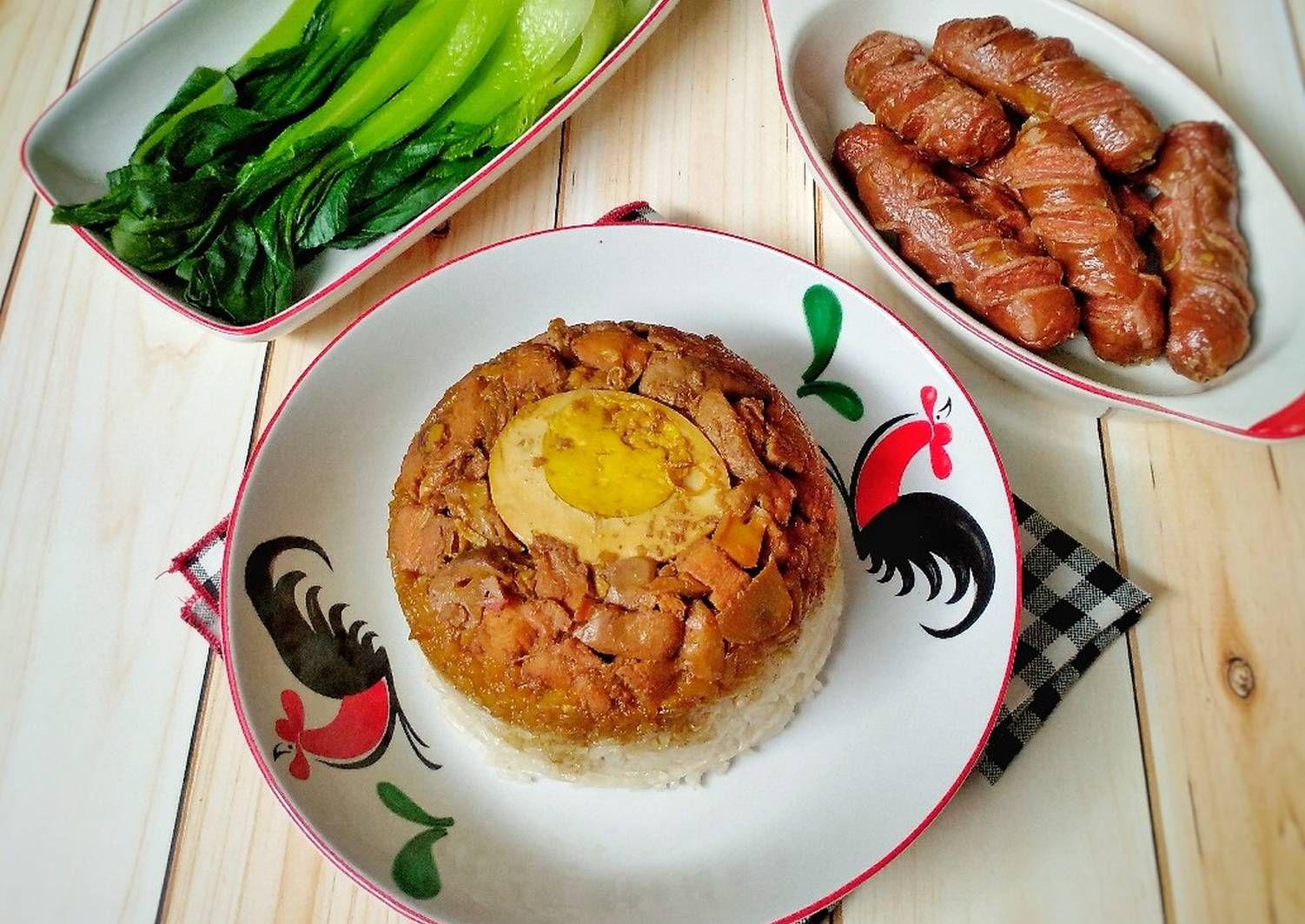 Resep Nasi Tim Ayam Jamur Oleh Susan Mellyani Resep Memasak Makanan Dan Minuman Makanan Jalanan