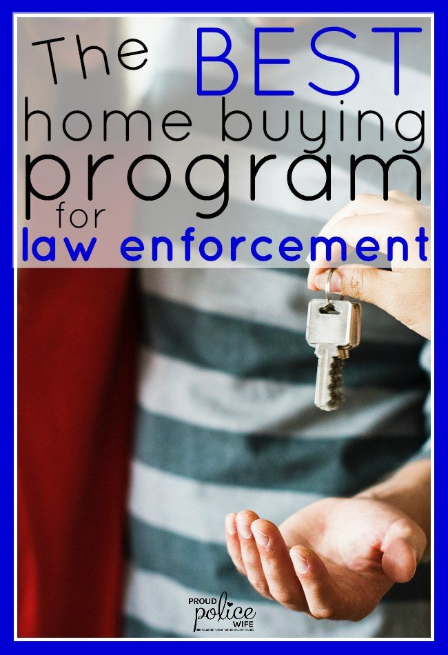 The BEST home buying program for law enforcement