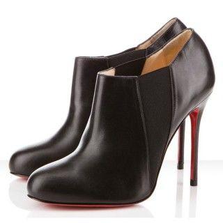 nouveau produit bacc8 95264 Christian Louboutin Prix Lastoto 100mm Bottines Noir | shoes ...