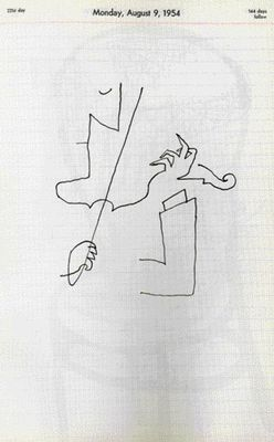 one of the best: Saul Steinberg