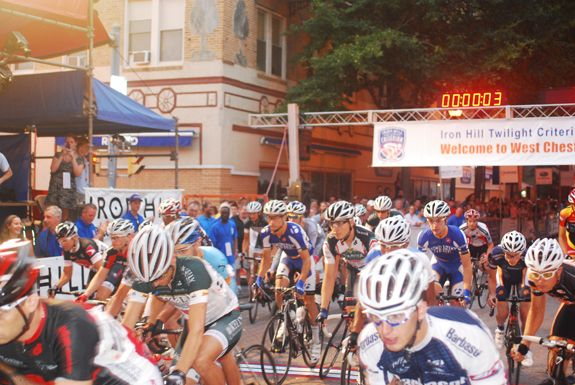 Iron Hill Twilight Criterium Pro Bike Racing West Chester Pa