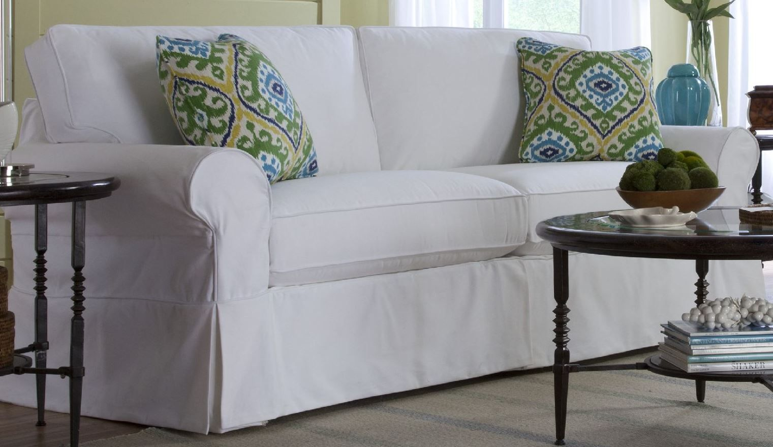Craftmaster Slipcovered Sofa Sales #Charleston #SlipcoveredSofa  #SouthernStyle