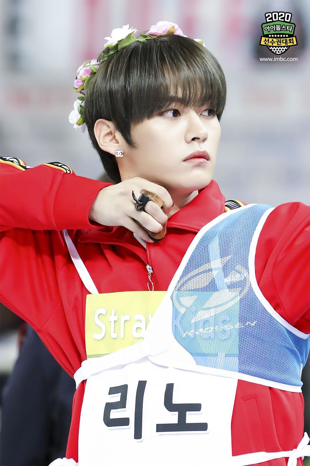 2020 Idol Star Athletics Championships Shares Exciting Glance At Competition For Pitching Archery And More Soo Lee Know Lee Know Stray Kids Kids Pictures