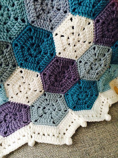 Weekender Blanket Free Crochet Pattern | Häkeln, Stricken, Wolle ...