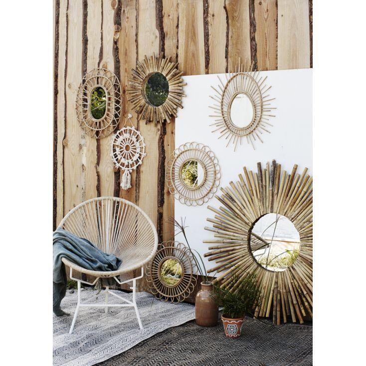 Image Decoration Osier De Quirien Verkleij Du Tableau Ideeen Voor Het Huis Miroir En Rotin Moderne Milieu De Siecle