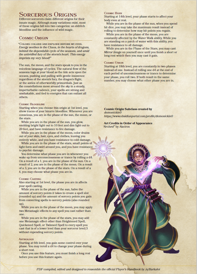 #subclass #sorcerer   Dungeons and dragons classes, Dnd sorcerer, D&d dungeons and dragons
