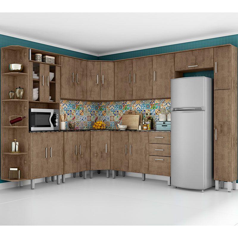 Cozinha Compacta 10 Pecas Suica Poliman Demolicao Cozinha
