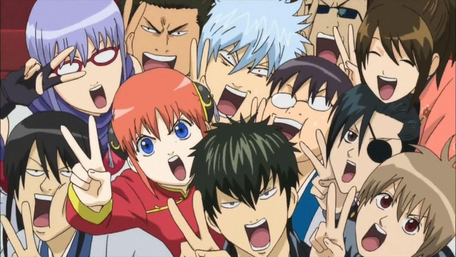 Resultado de imagem para gintama wallpaper Anime
