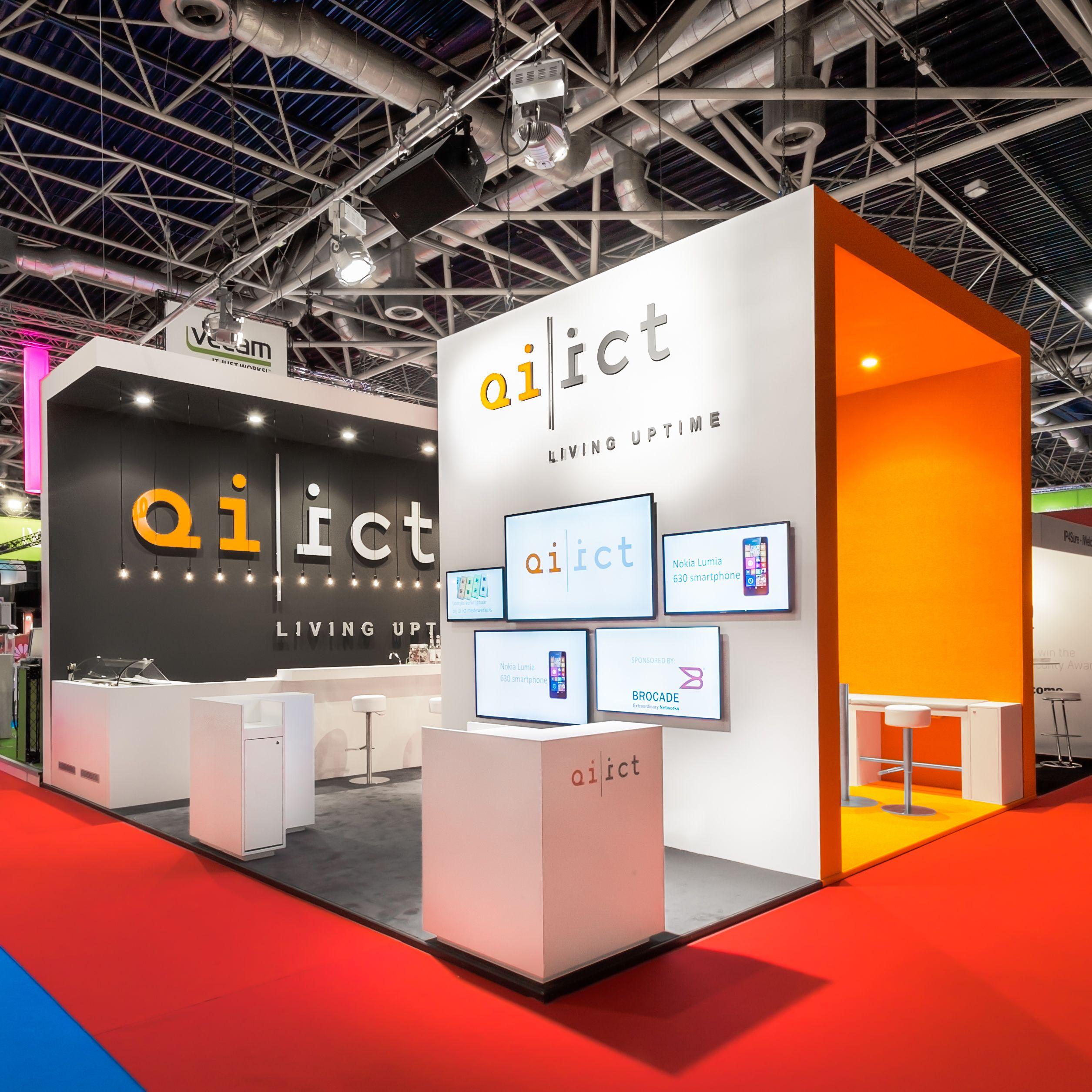 Exhibition Stall Vendors : Qi ict infosecurtiy utrecht marketing exhibition stall