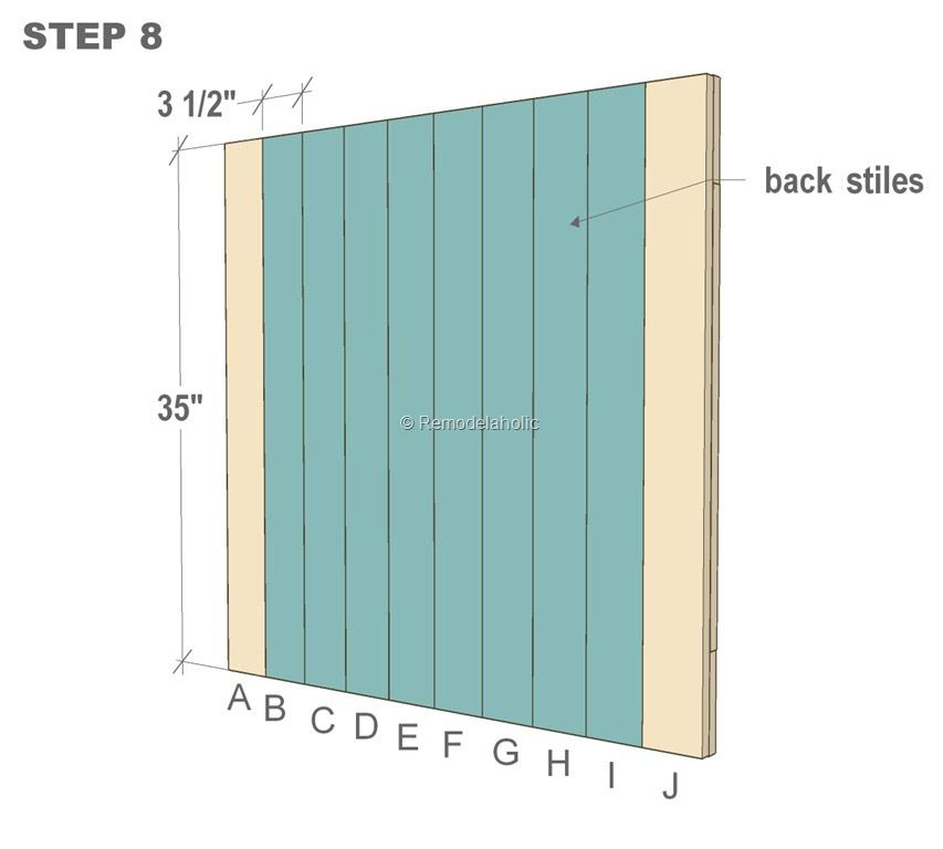 this post shares with you free plans for a barn door baby gate for stairs