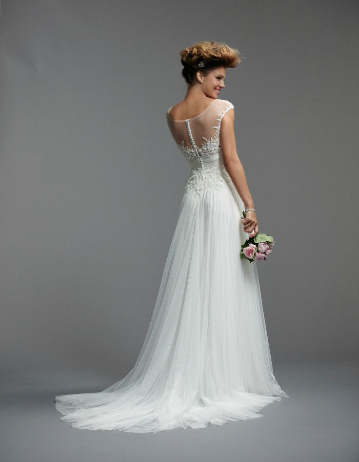Illusion Necklines Statement Backs With Watters Wedding Dresses Spring 2017