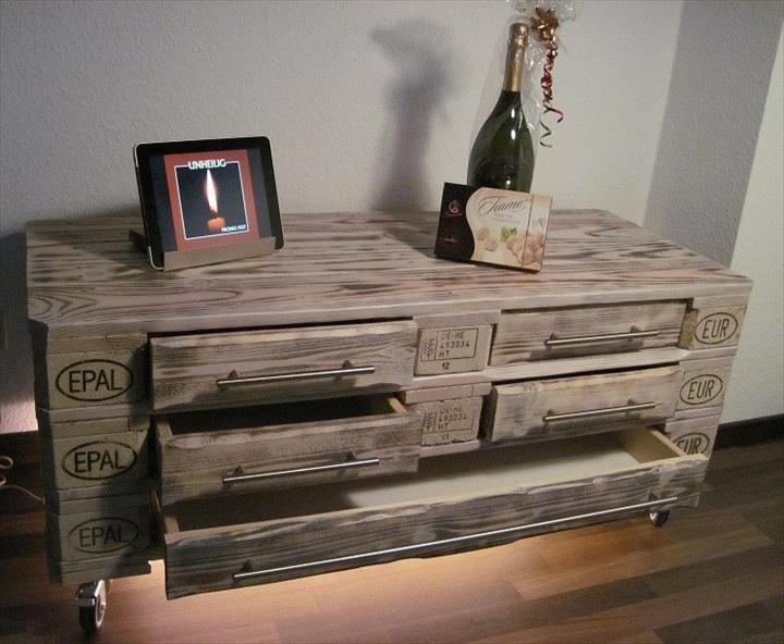euro pallet furniture beach diy euro pallet dresser with drawers 101 ideas