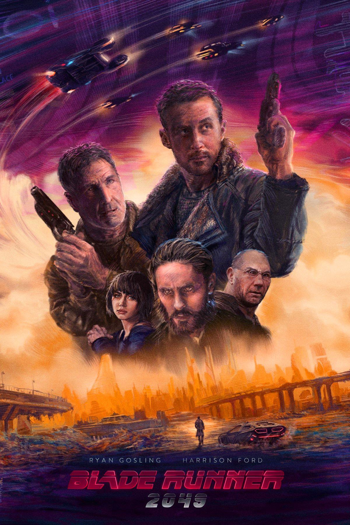 Blade Runner 2049 Blade Runner Blade Runner 2049 Movie Art