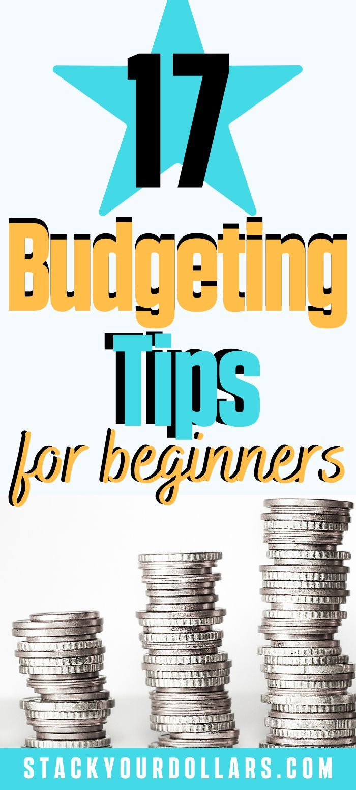 Saving money will be easier when you use these smart budgeting tips for beginners. #StackYourDollars
