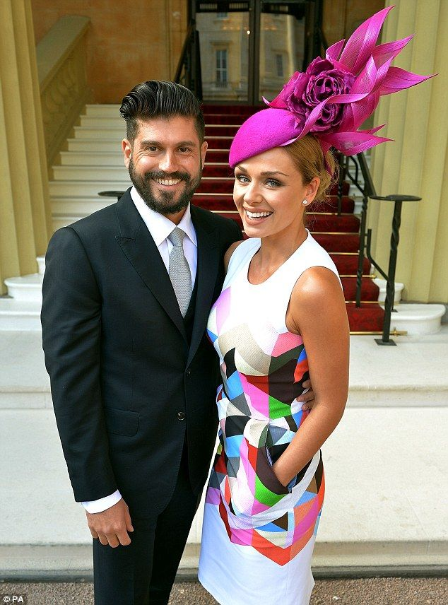 Katherine Jenkins goes public with Andrew Levitas as she gets an OBE