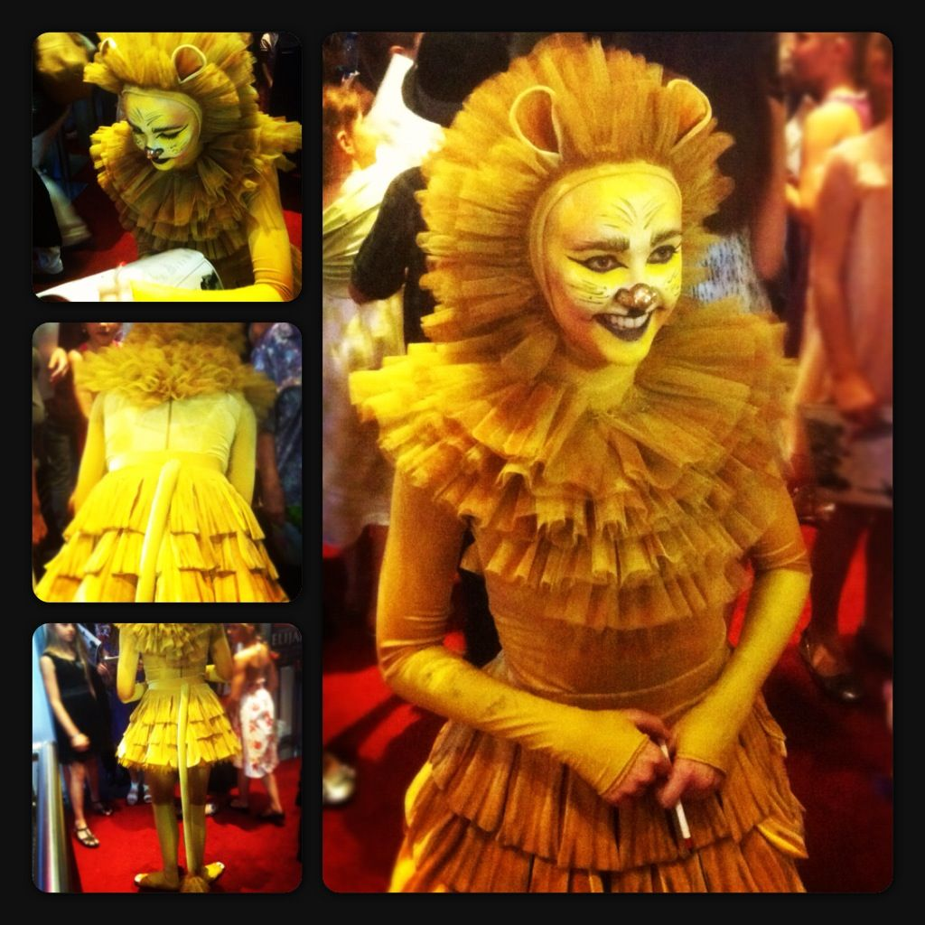 My niece as the lion in The Brisbane City Youth Ballet's Wizard of ...
