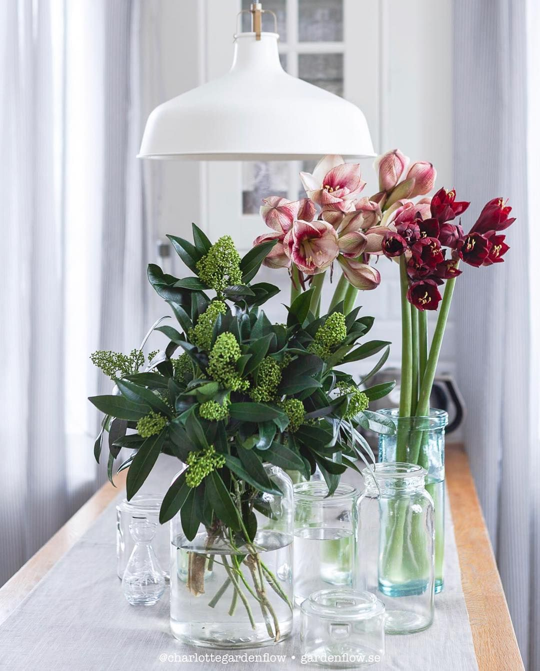Charlotte Andersson Charlottegardenflow Instagram Photos And Videos Vase Glass Vase Table Decorations