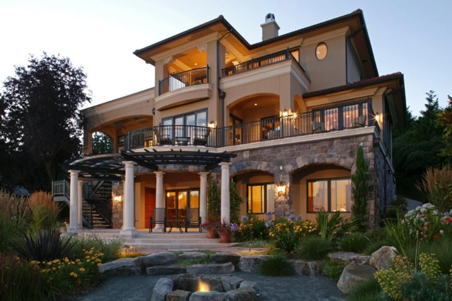 Pin By Afshin On Exposed Dream House Exterior Luxury Homes House Designs Exterior