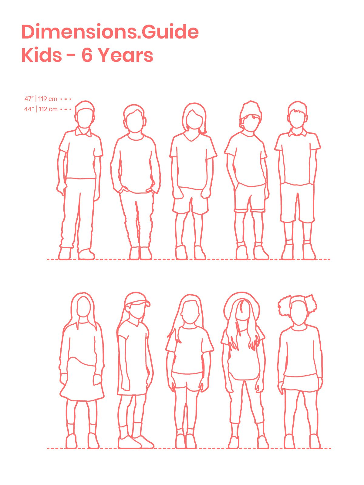 Body Dimensions Human Average