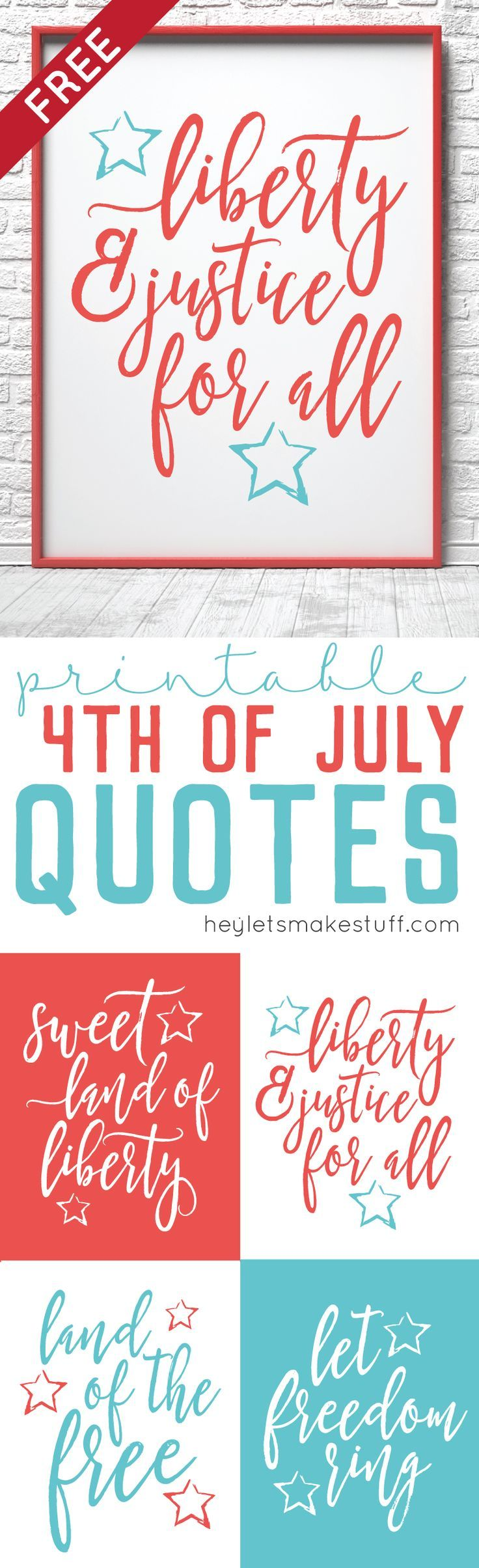 Celebrate freedom with these 4th of July Quotes! Each of these ...