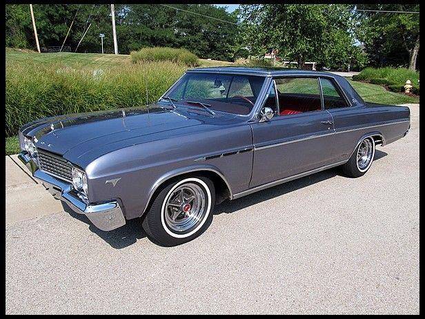 1965 Buick Skylark Hardtop Gray Black W White Bucket Seats 1st Car Says It All Buick Buick Cars Buick Skylark