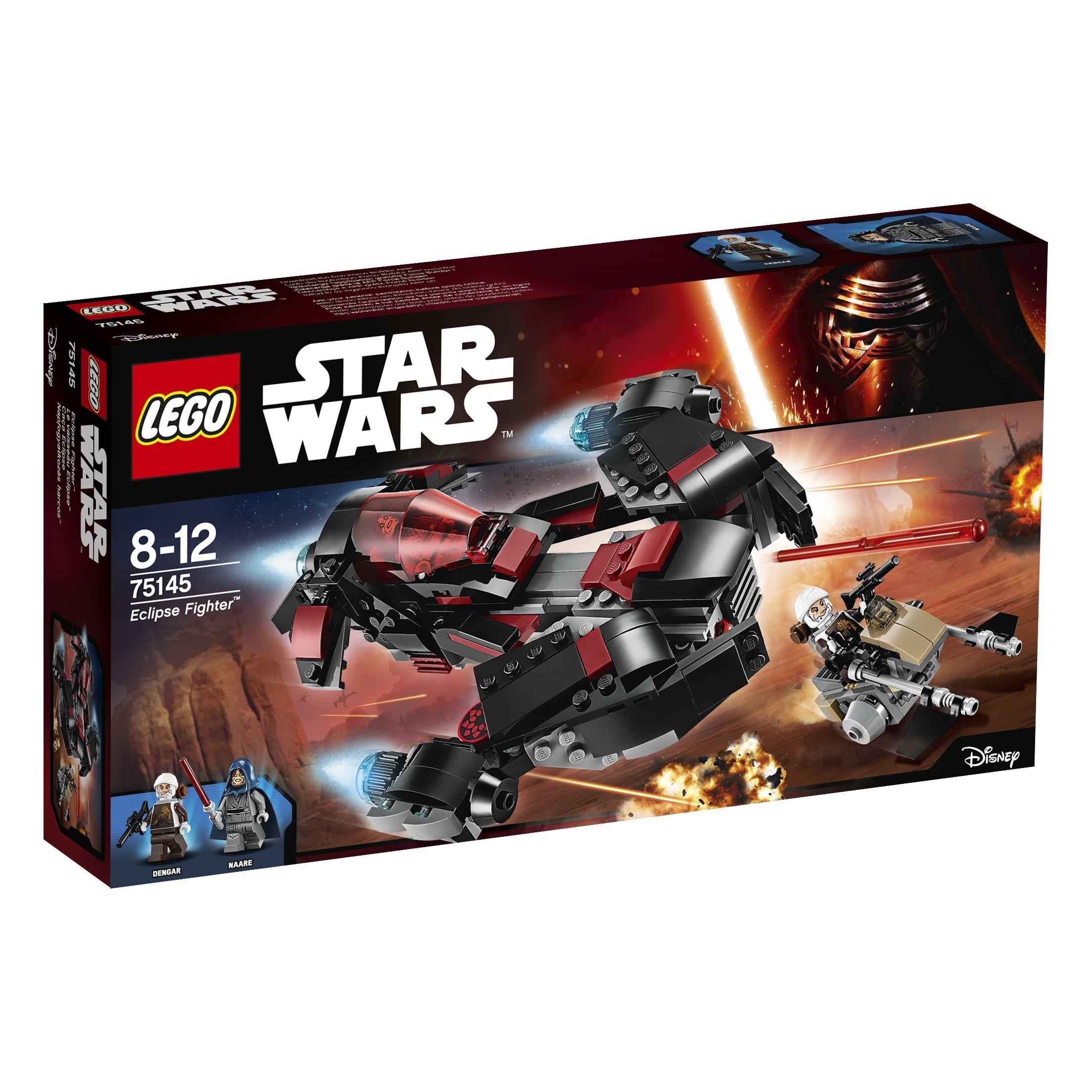 Lego Star Wars 2018 Ledlites Leia, Executioneer Trooper, Tie Pilot,