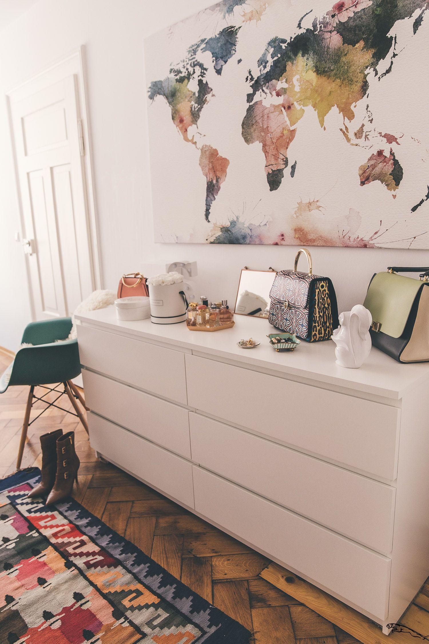 Ein Schlafzimmer Update Teil Zwei Josie Loves Ankleidezimmer Bedroom Storage For Small Rooms Small Room Design Bedroom Storage Ideas For Clothes