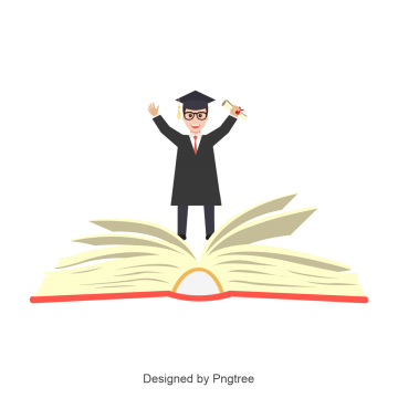 Graduate Student Vector Graduation Graduation Vector Book Png And Vector With Transparent Background For Free Download Graduation Cartoon Vector Red Ribbon