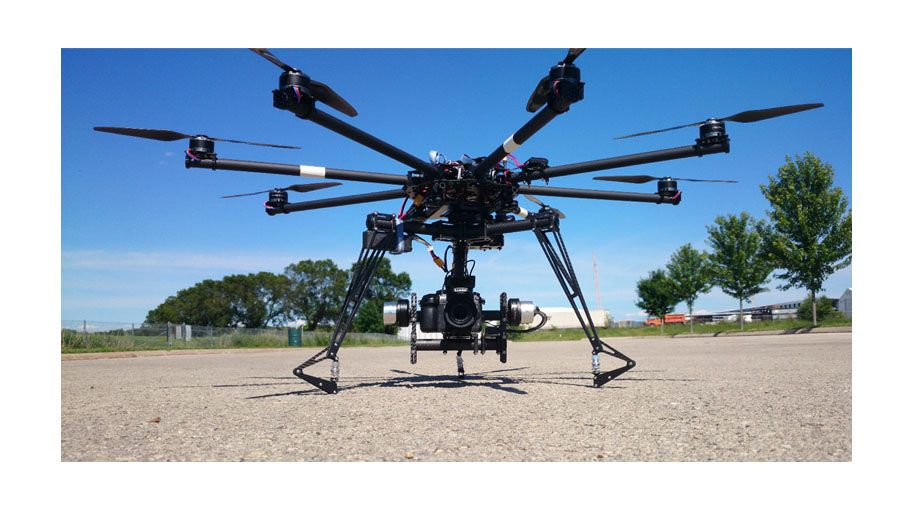 Heavy Duty Drones for a variety of uses including