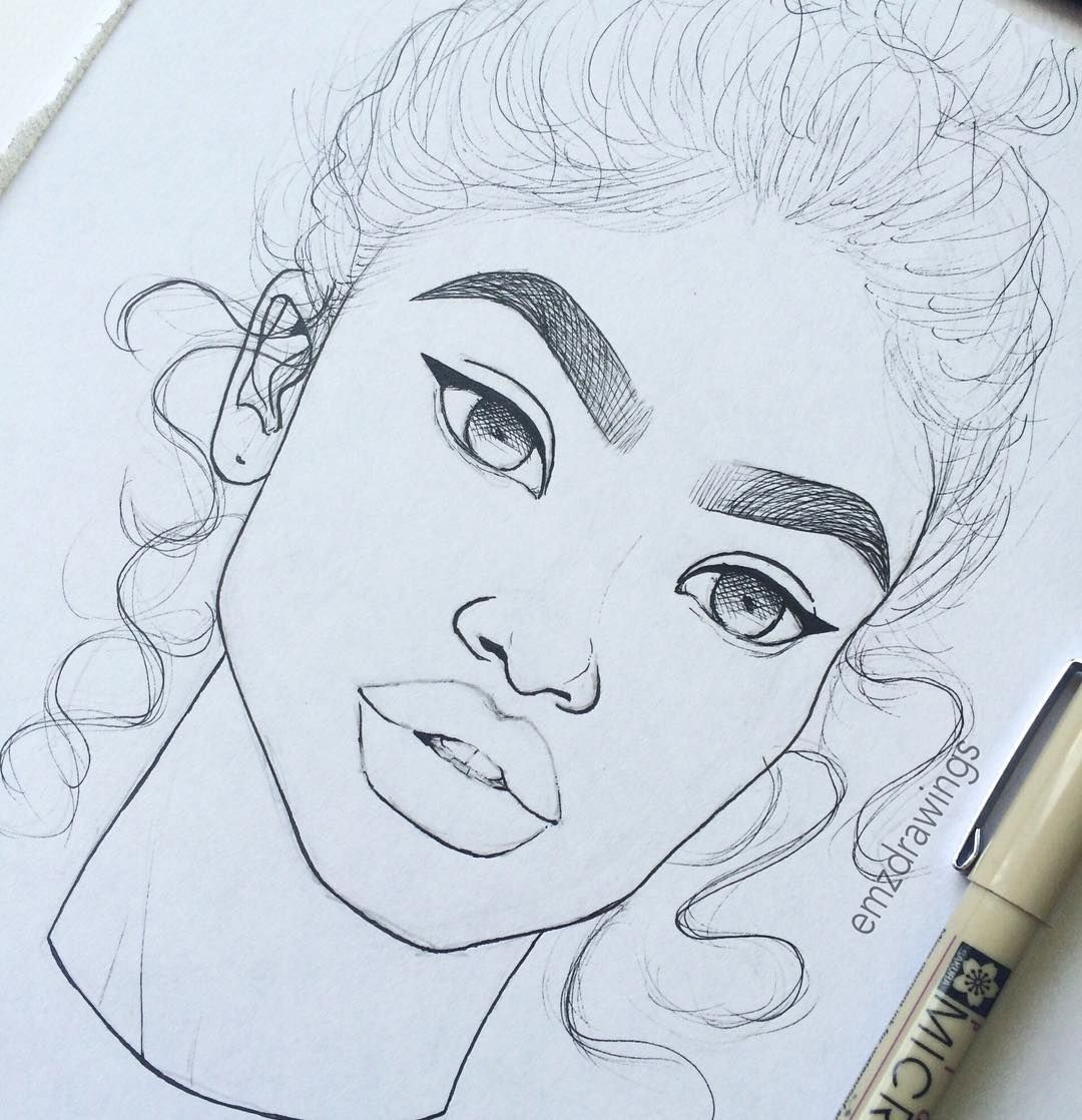 Easy Drawing Ideas: See This Instagram Photo By @emzdrawings • 28.5k Likes