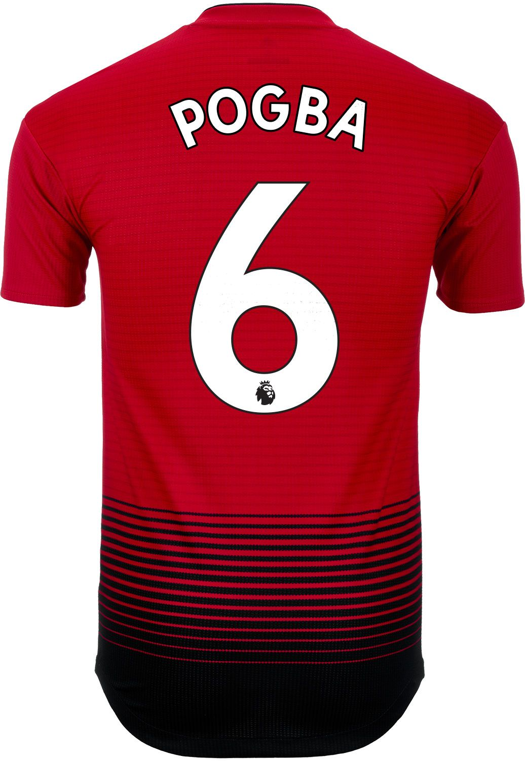 045b86470 adidas Paul Pogba Manchester United Home Authentic Jersey 2018-19 ...