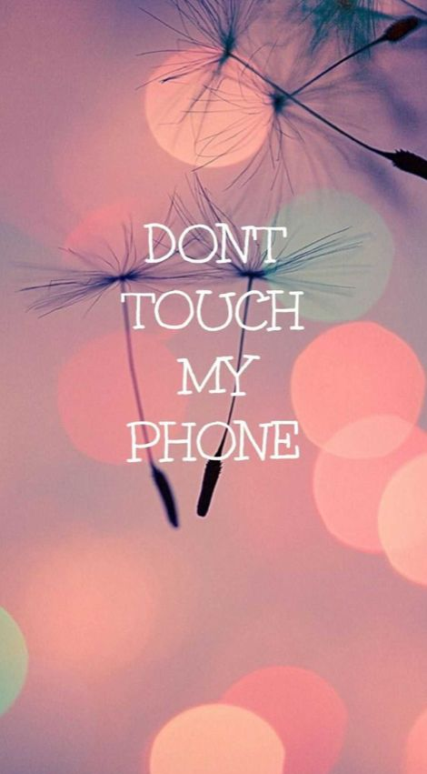 Don't touch my phone in 2020 | Dont touch my phone wallpapers, Wallpaper iphone cute, Cute girl ...