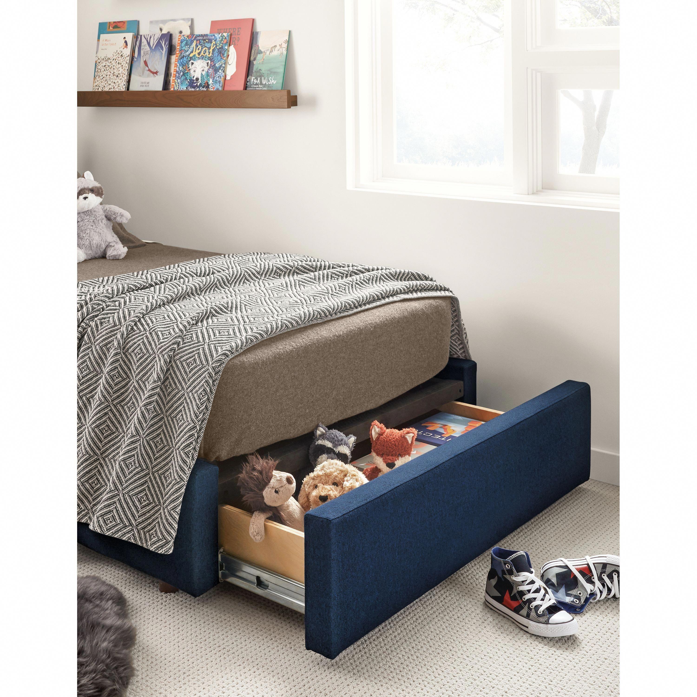 Wyatt Kids Storage Bed Modern Beds Modern Kids Furniture Bed Storage Kids Bed Headboards Kids Bedroom Furniture
