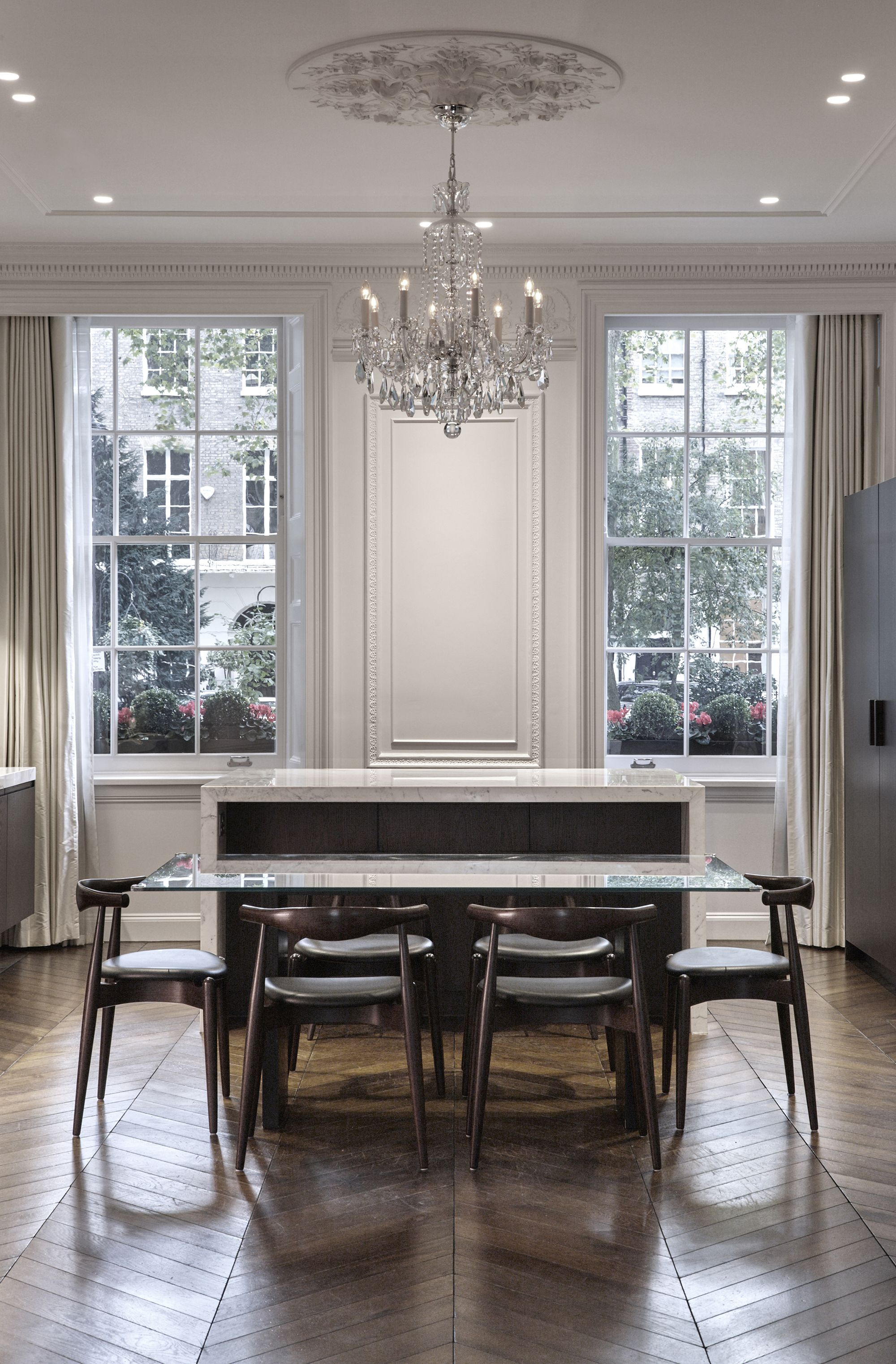 D Raw - Montagu Square | Square kitchen, Interior design ...