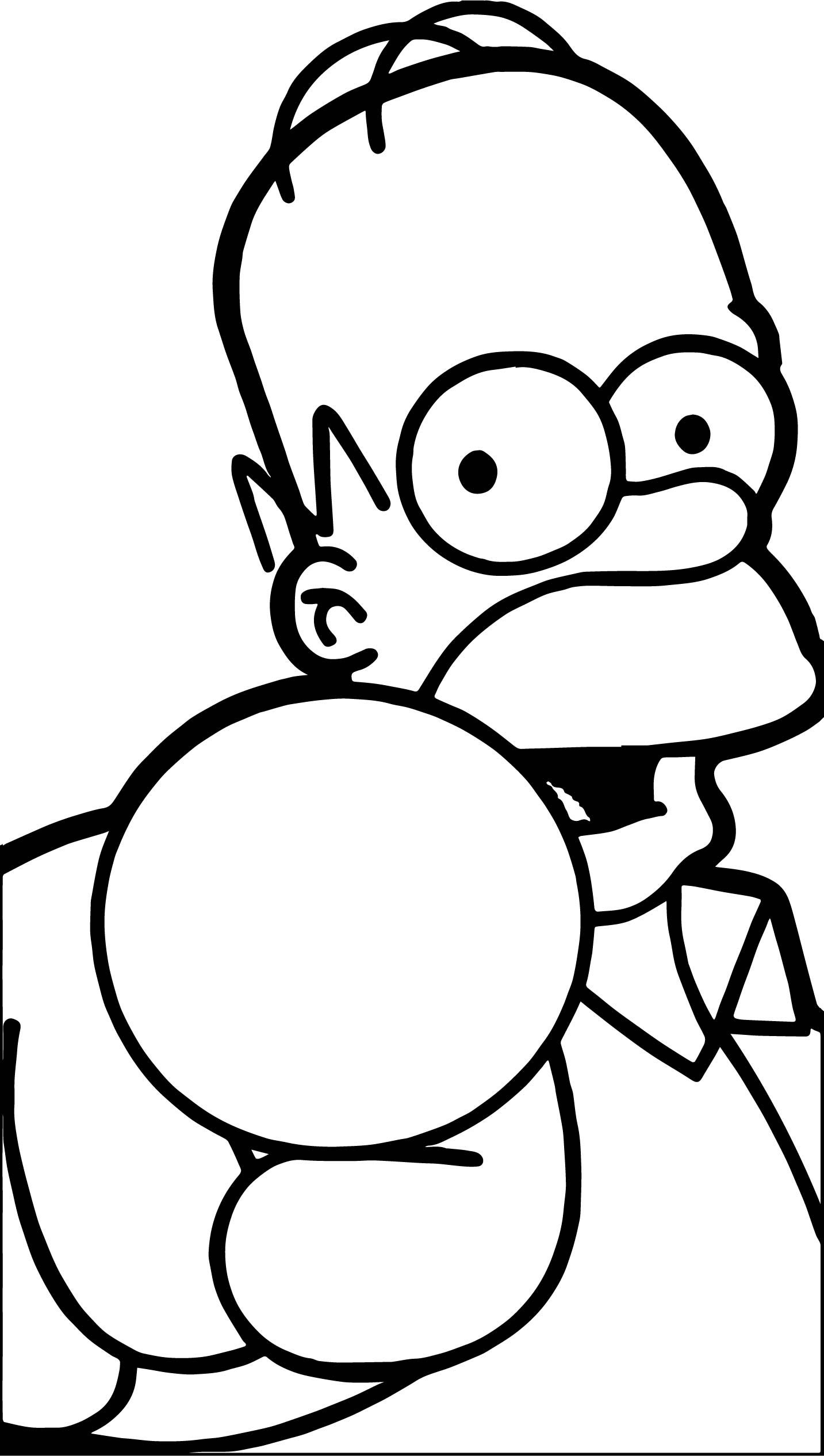 Awesome The Simpsons You Coloring Page The Simpsons Coloring Pages Simpson